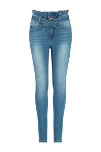 CoolCat Junior high waist skinny jeans Kiki stonewashed, Stonewashed