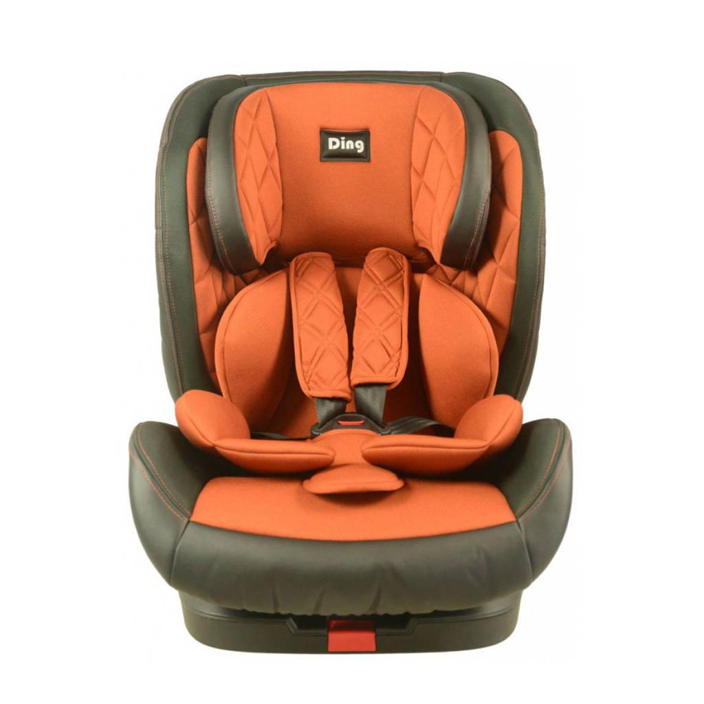 Ding Autostoel Space Isofix 9-36kg Grijs-Roest, Grijs / Roest