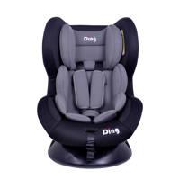 Ding Autostoel Dano 0-18kg Zwart met Grijs, zwart / grijs