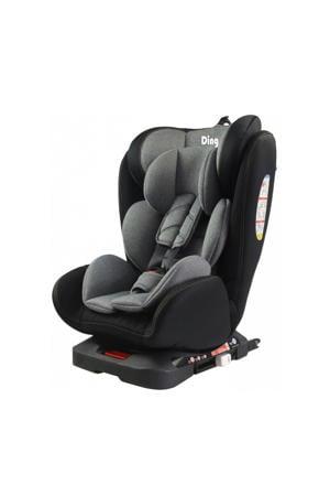 Autostoel Twist 360° Isofix 0-36kg Zwart met Grijs