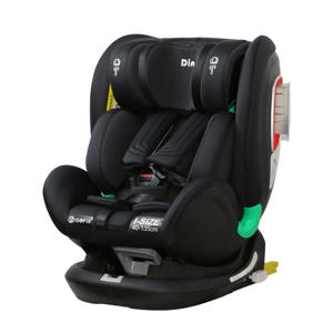 Autostoel Philo 360° i-Size 0-36kg zwart