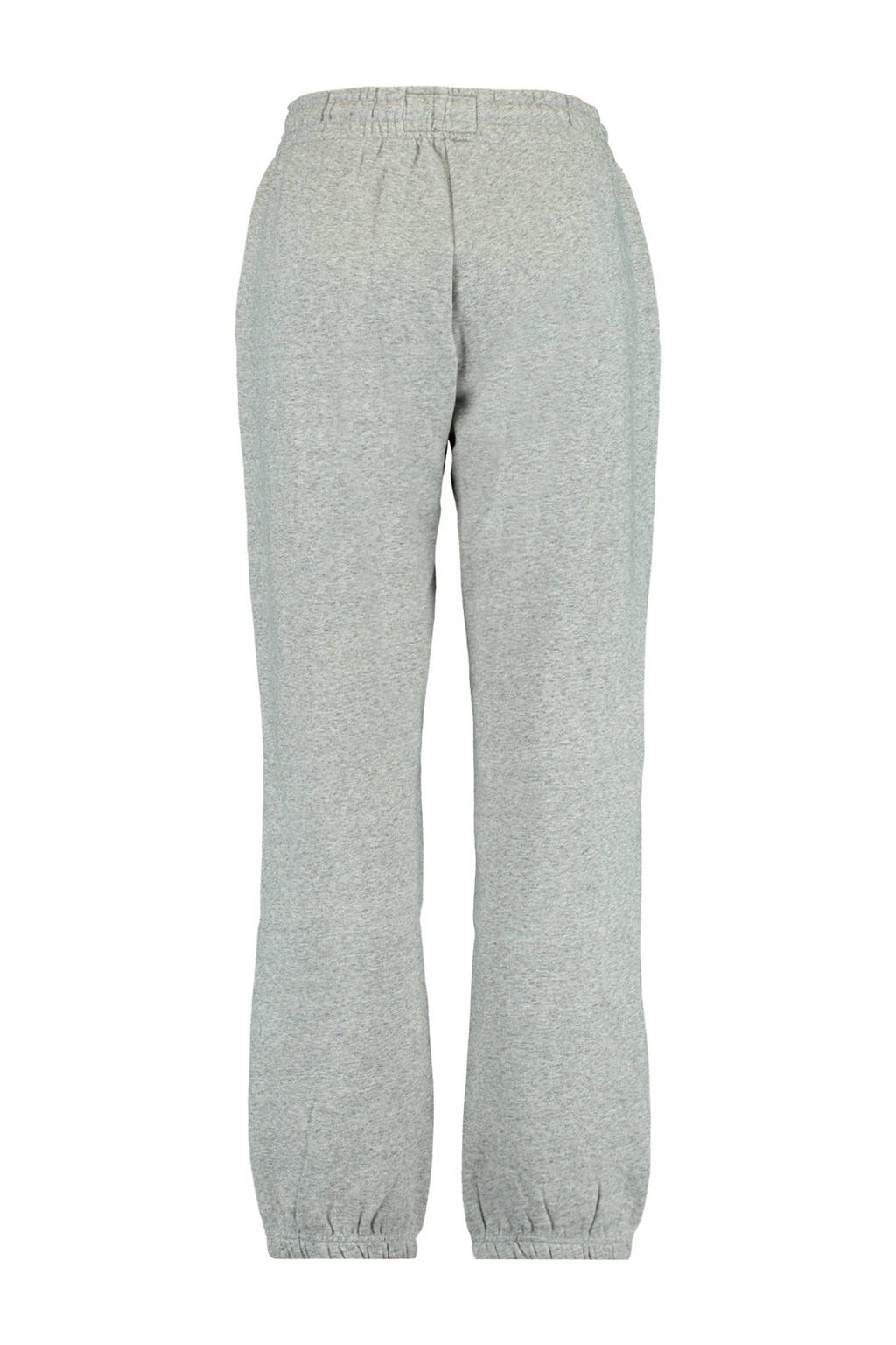 America Today regular fit joggingbroek Cou van biologisch katoen mid grey melange