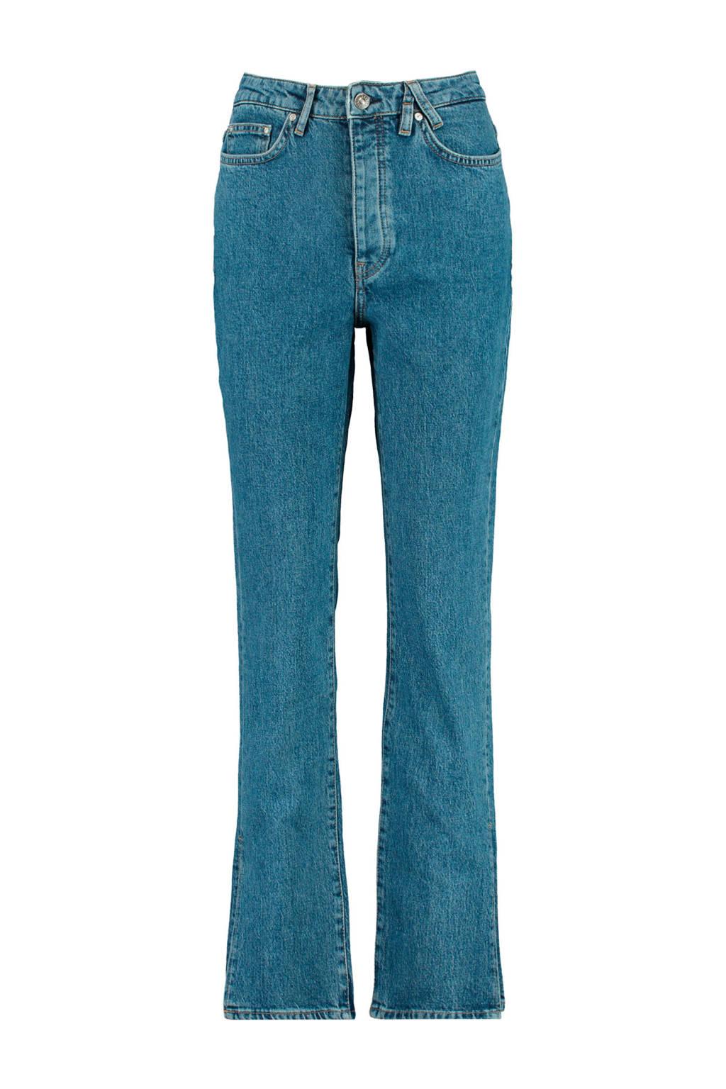 America Today high waist straight fit jeans Mila vintage blue, Vintage blue