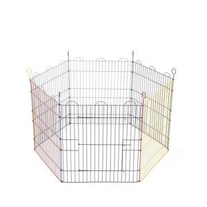 Konijnenren - 6 Panelen - 66,5x58 cm, diam. 105 cm