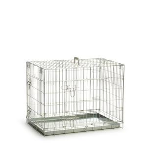 Hondenbench - 2 Deurs - Verzinkt - 78x55x61 cm