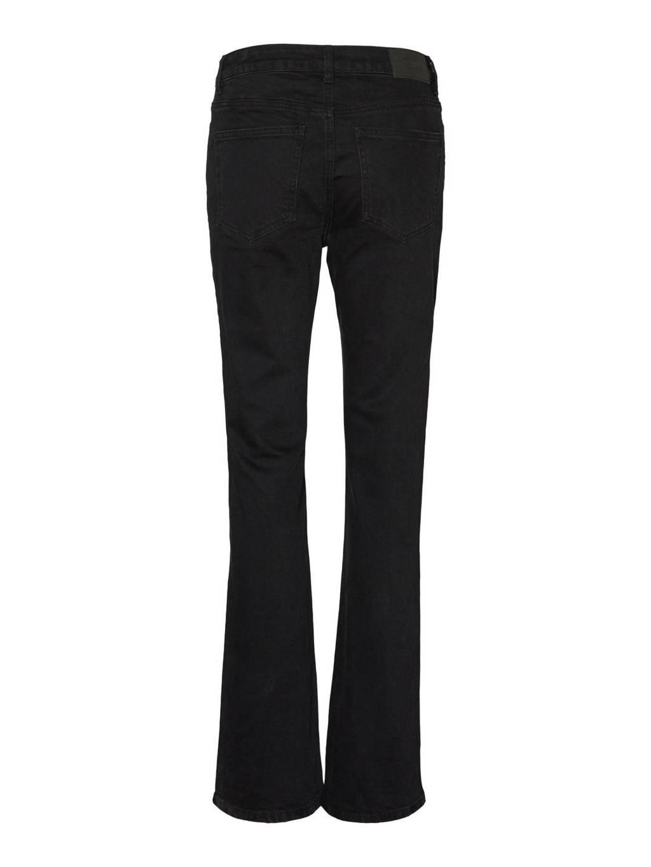 VERO MODA straight fit jeans zwart, Zwart