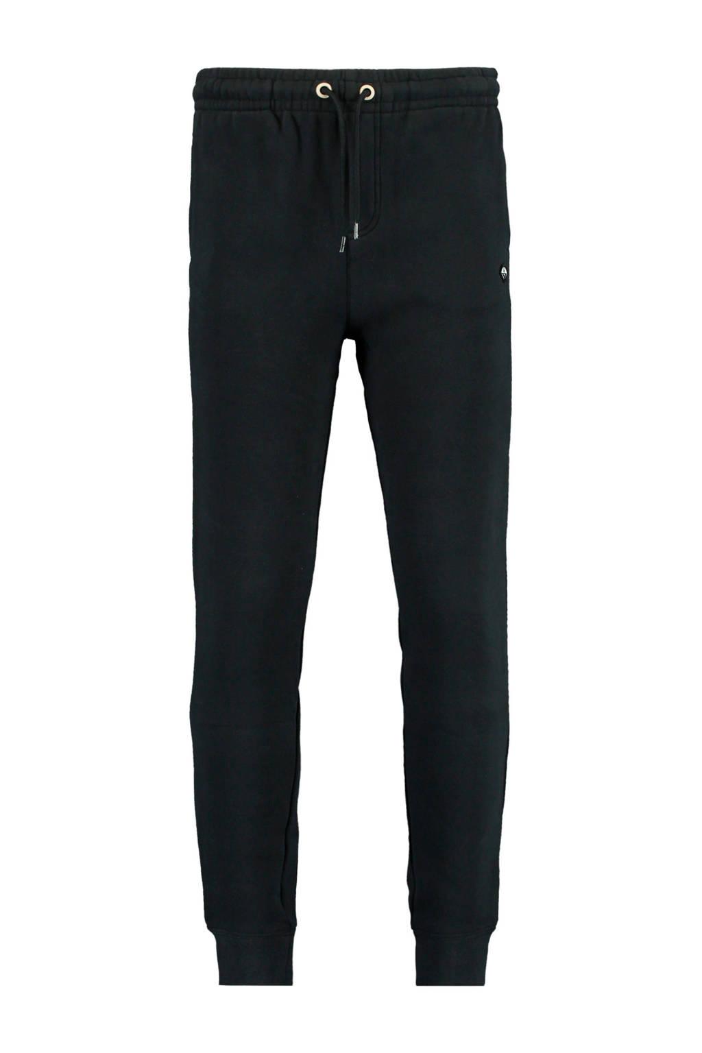 America Today Junior broek Con met logo zwart, Zwart