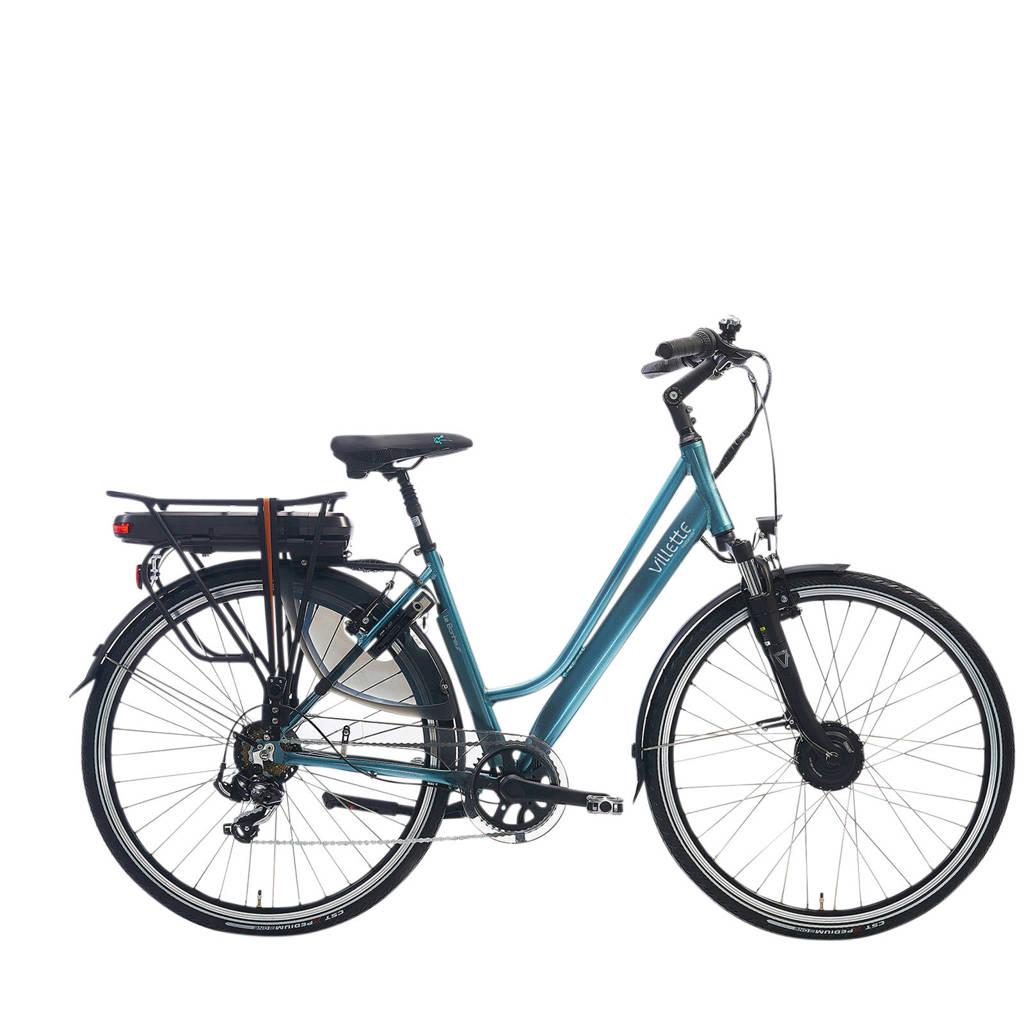 Villette le Bonheur elektrische fiets 48 cm, zeegroen glans