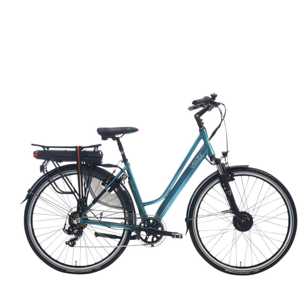 Villette le Bonheur elektrische fiets 51 cm, zeegroen glans