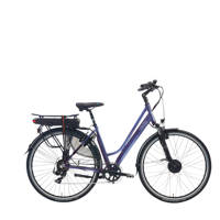 Villette le Bonheur elektrische fiets 48 cm, grijsblauw glans