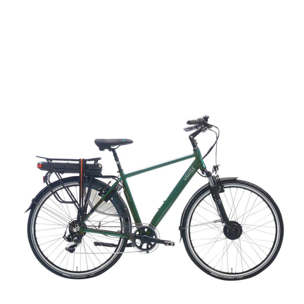 Villette le Bonheur elektrische fiets 50 cm, donkergroen glans
