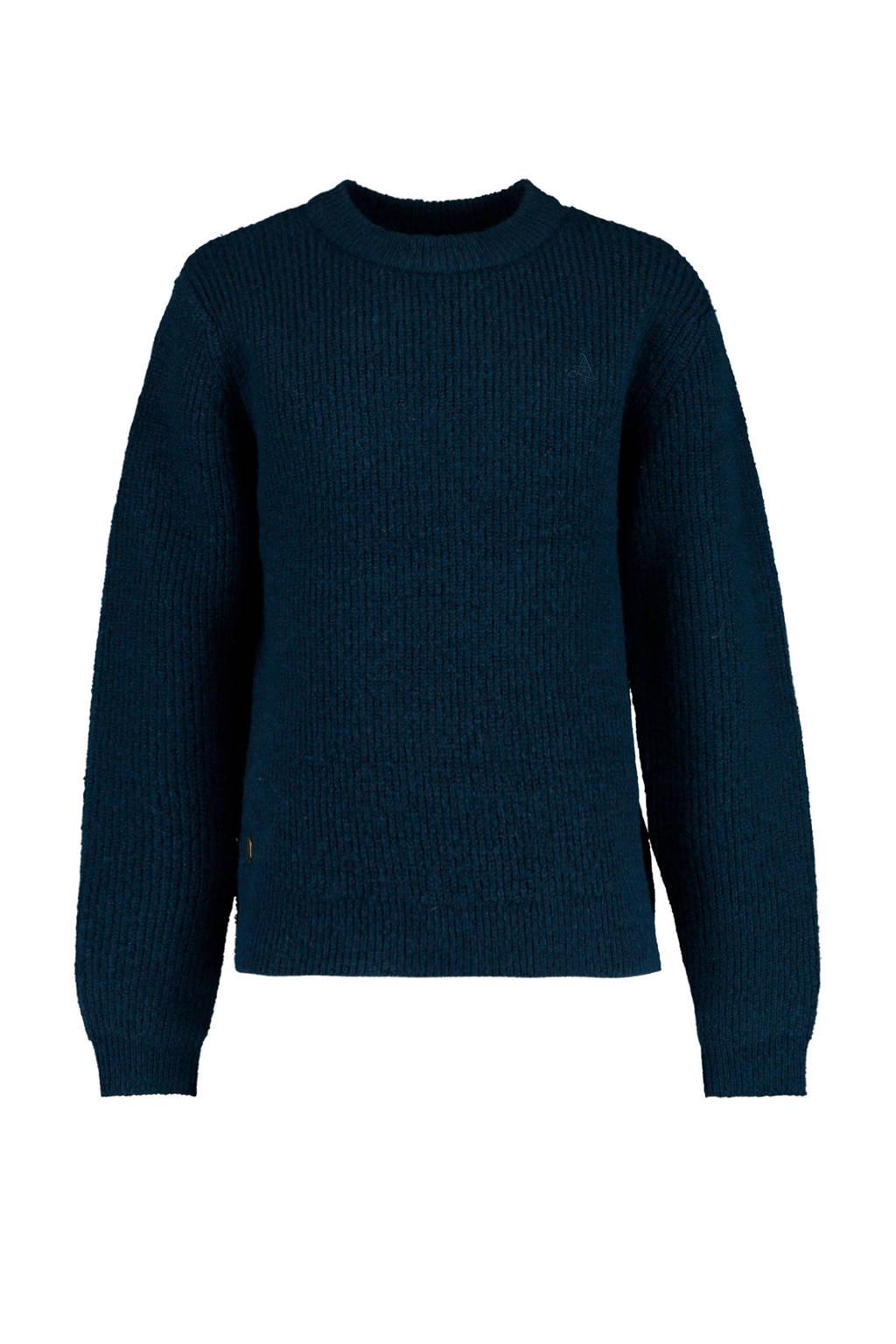 America Today Junior trui Kristie donkerblauw, Donkerblauw