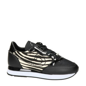 Parkrunner  sneakers zwart/zebraprint