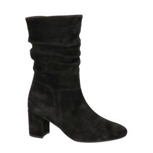 suède laarzen zwart