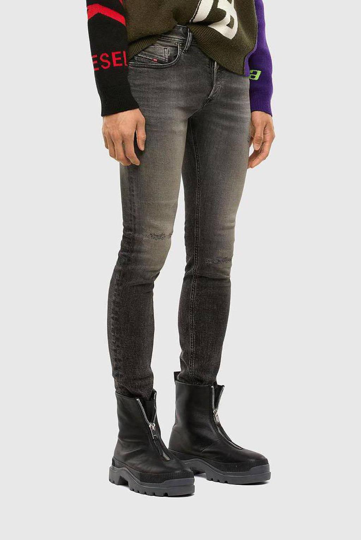 Diesel skinny jeans Sleenker-X 02/Medium grey, medium grey