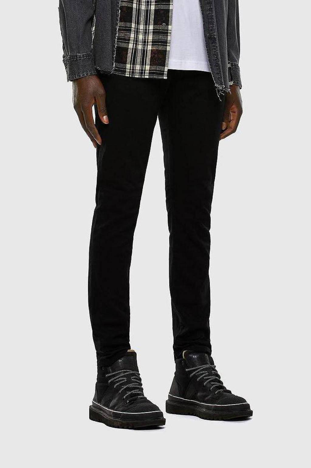 Diesel slim fit jeans D-Strukt 02 / Black, 02/Black