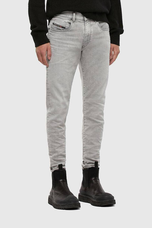 Diesel slim fit jeans D-Strukt 07 / Light grey, Lichtgrijs