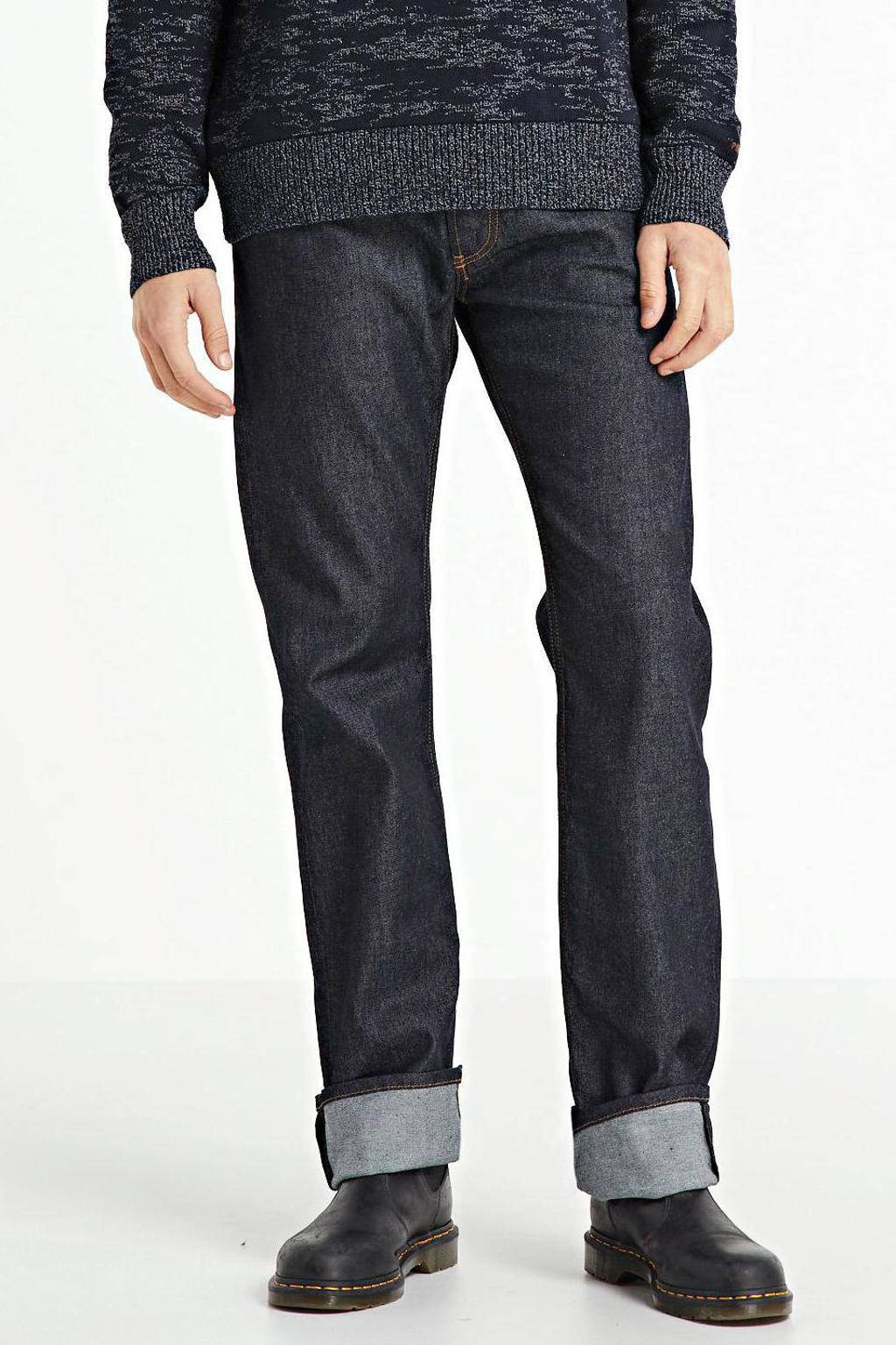 Diesel straight fit jeans Larkee-X dark blue, Dark Blue