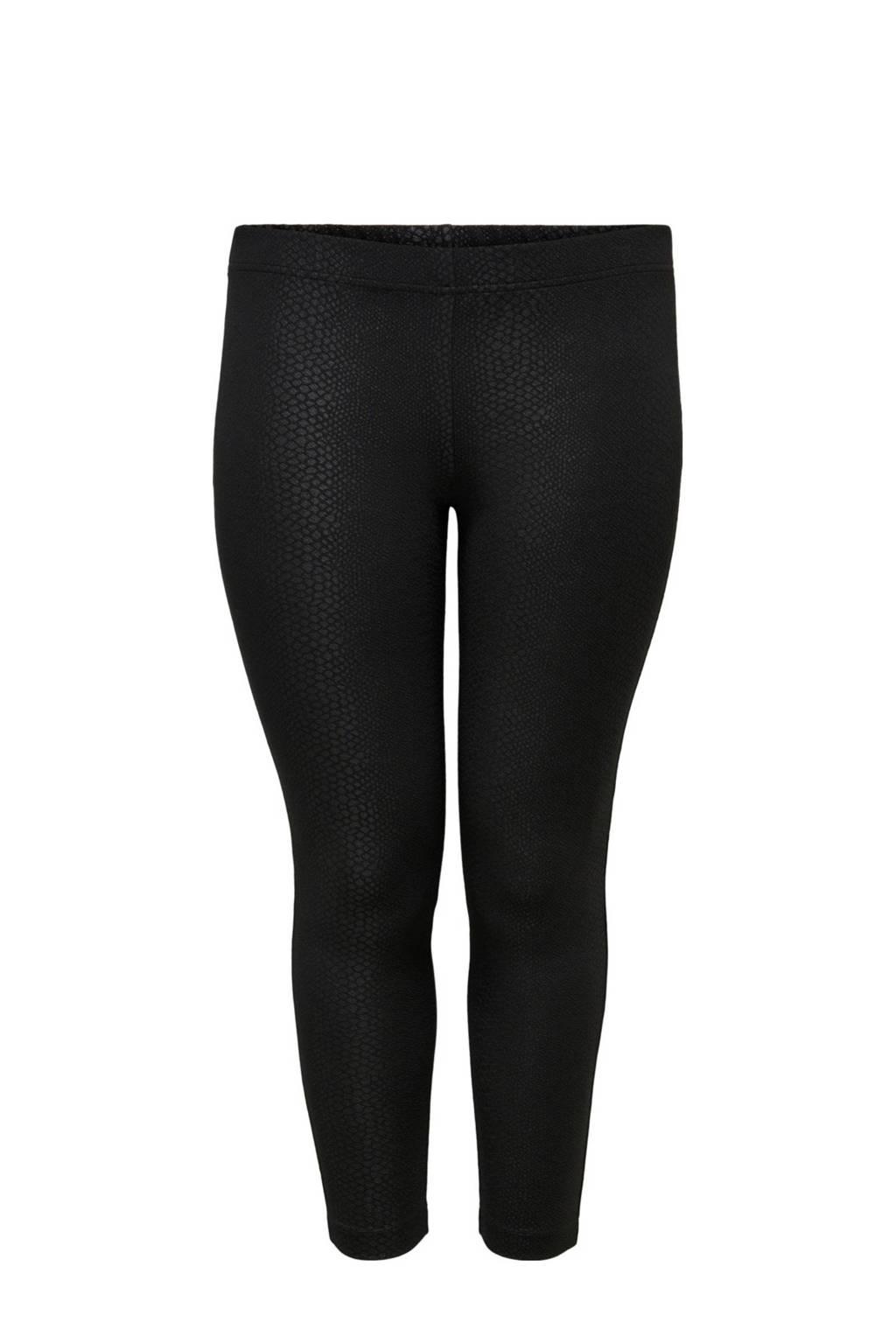 ONLY CARMAKOMA Plus Size legging zwart, Zwart