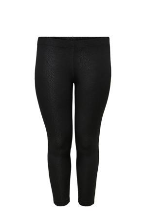 Plus Size legging zwart