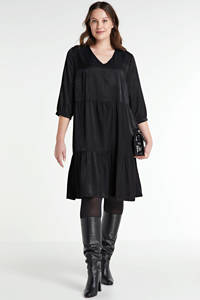 ONLY CARMAKOMA jurk zwart, Zwart