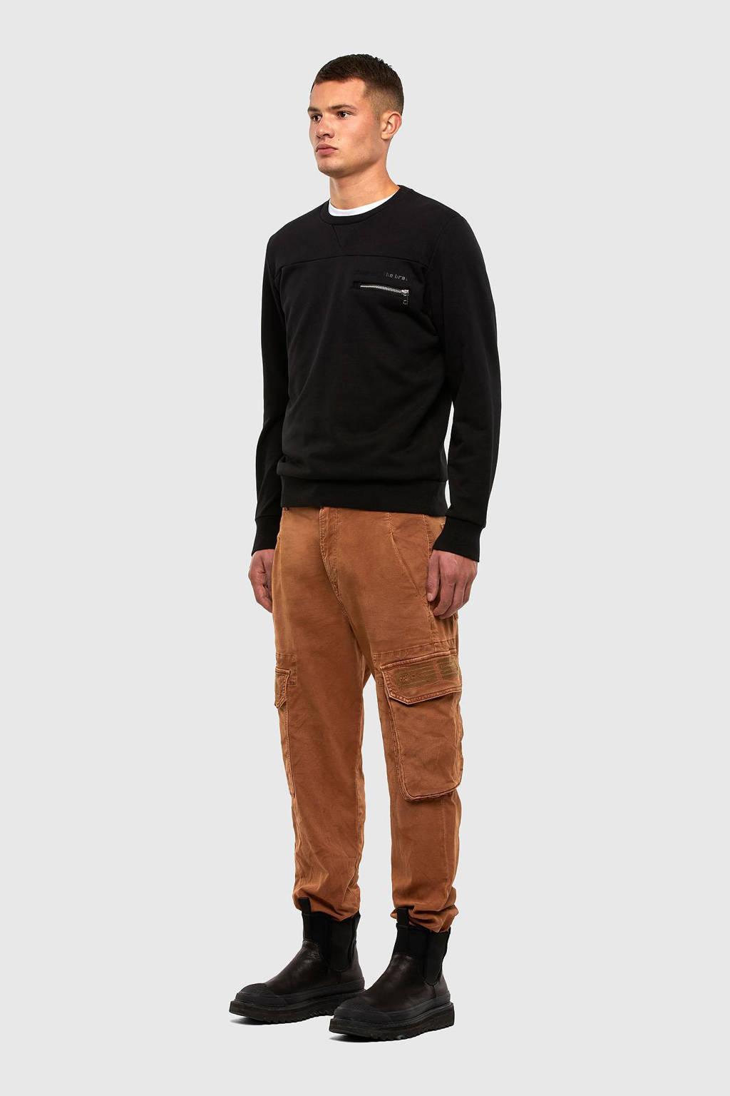 Diesel sweater Corinne zwart, Zwart