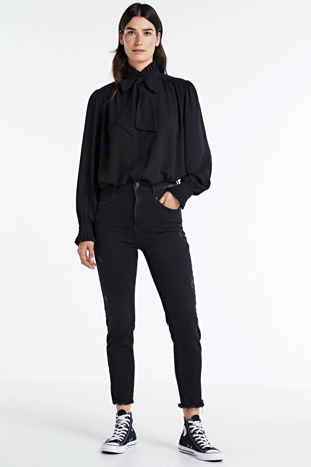 Peppercorn blouse zwart, Zwart