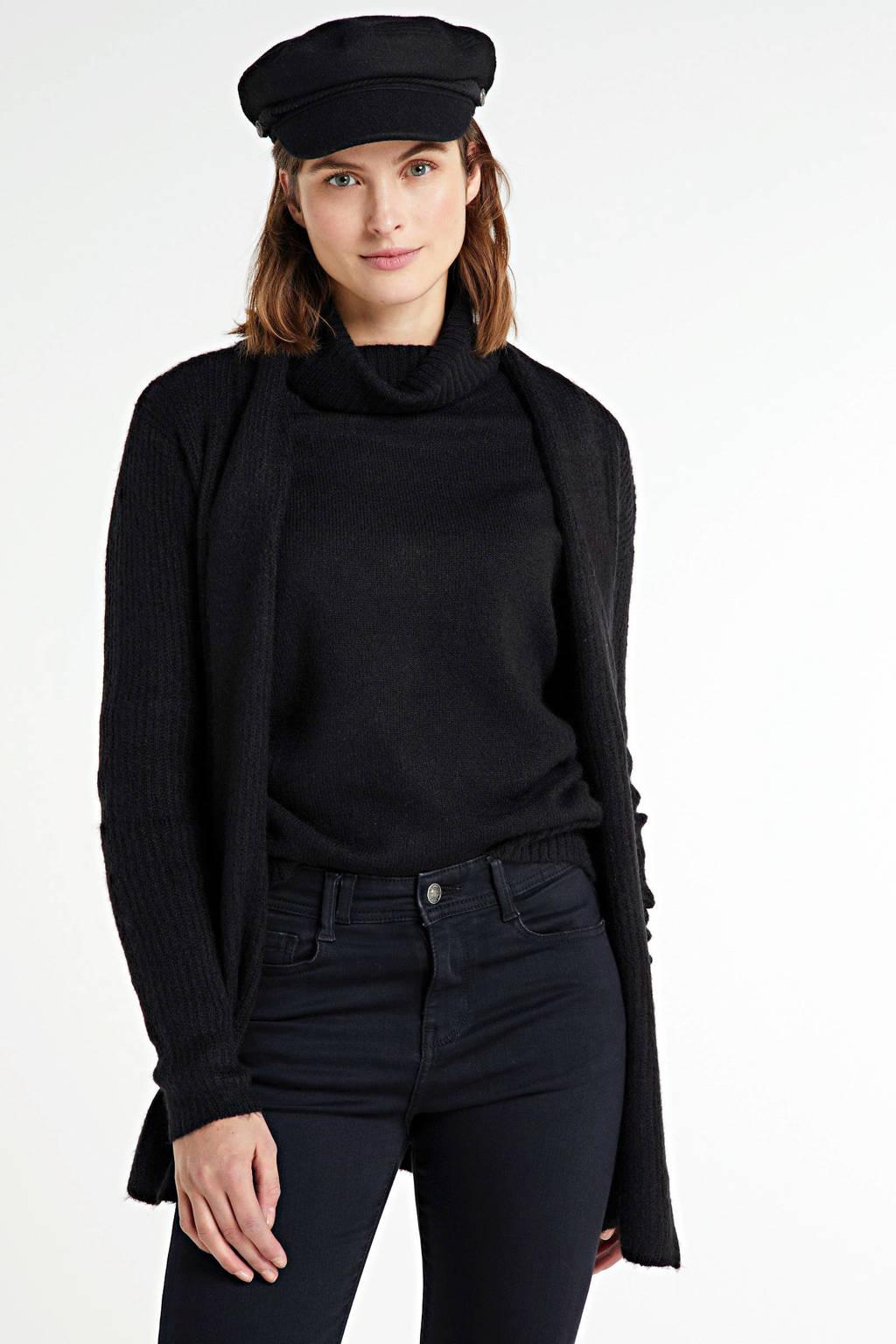 Peppercorn vest zwart, Zwart