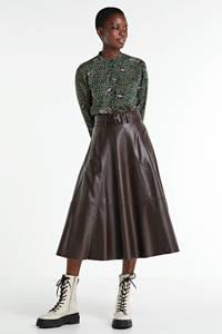 Peppercorn blouse met all over print groen, Groen