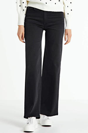 high waist loose fit jeans Jossie black stone