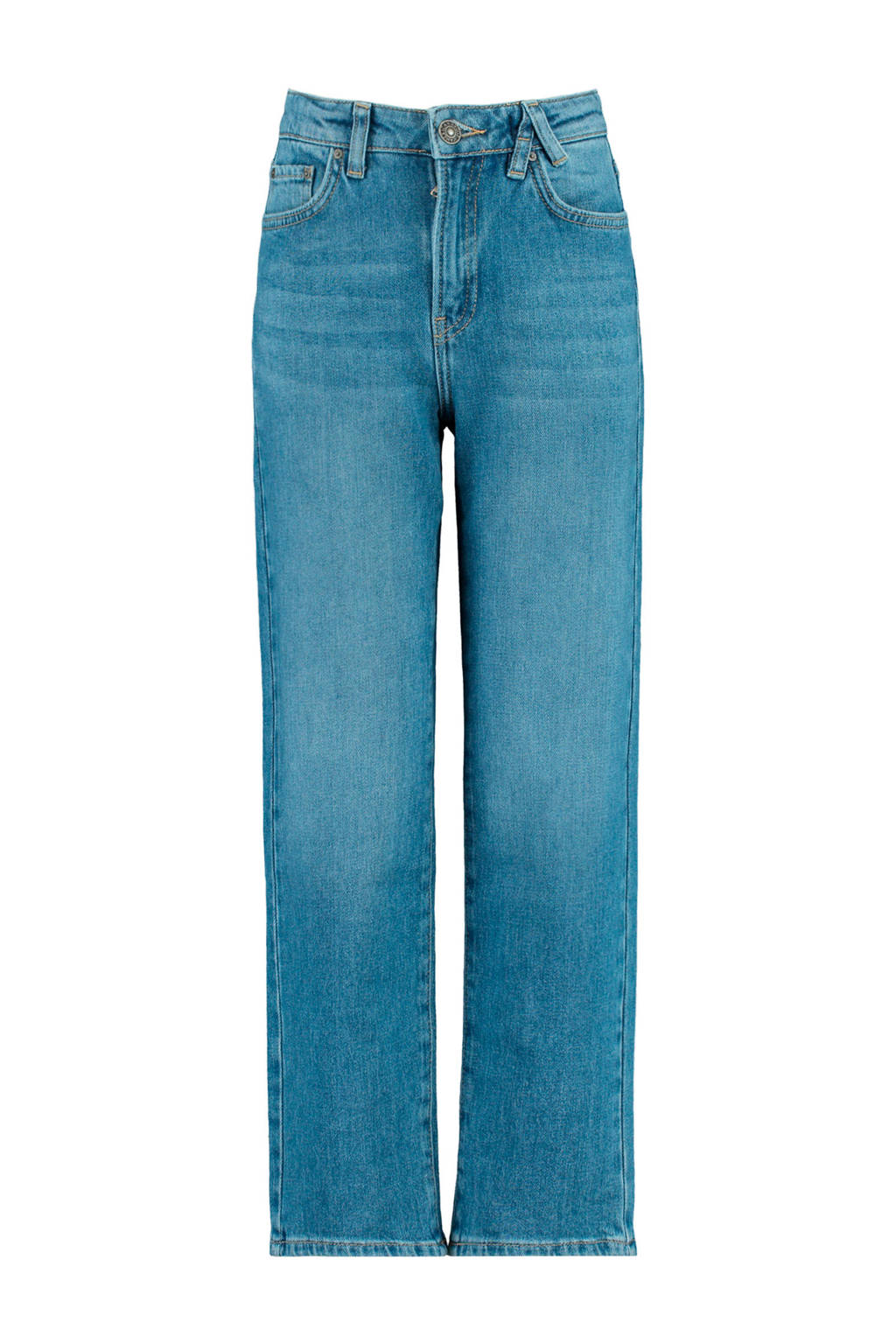 America Today Junior loose fit jeans Kathy stonewashed, Stonewashed