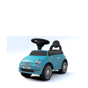 Fiat 500 loopauto blauw