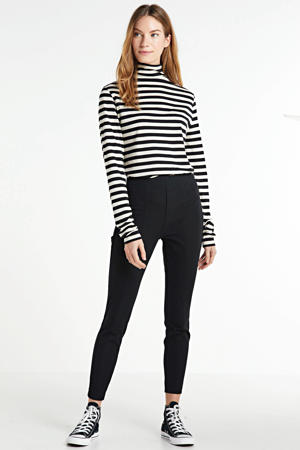 high waist skinny jeans HIGH RISE SKINNY true black