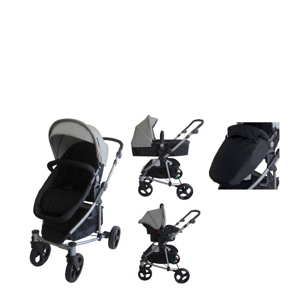 Xadventure inspire 2in1 combi & autostoel, Zwart/grijs