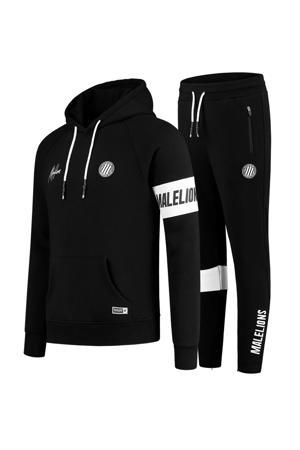 joggingpak Captain zwart/wit