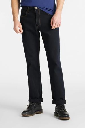straight fit jeans Brooklyn blauw/zwart