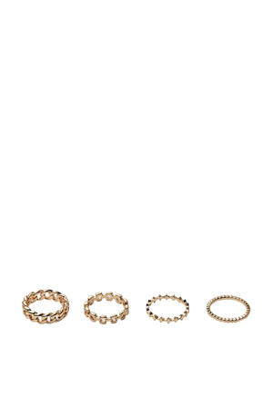 ring goud (set van 4)