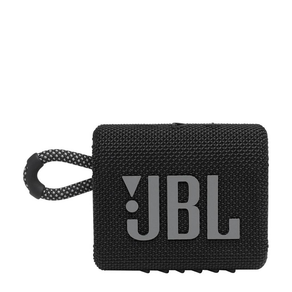 JBL Go 3  Bluetooth speaker (zwart), Zwart