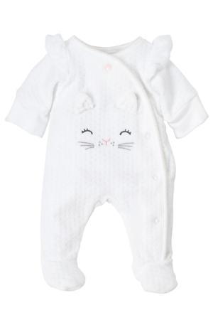 newborn baby boxpak met biologisch katoen wit