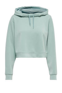 ONLY PLAY cropped sportsweater Dess mintgroen, Mintgroen