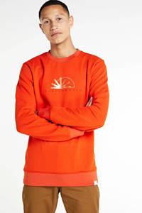 Scotch & Soda sweater met printopdruk oranje, Oranje