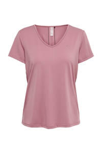 ONLY PLAY sport T-shirt Bako roze, Roze