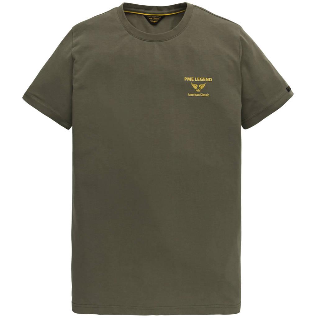 PME Legend T-shirt olijfgroen, Olijfgroen