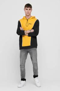 ONLY & SONS hoodie oker, Oker