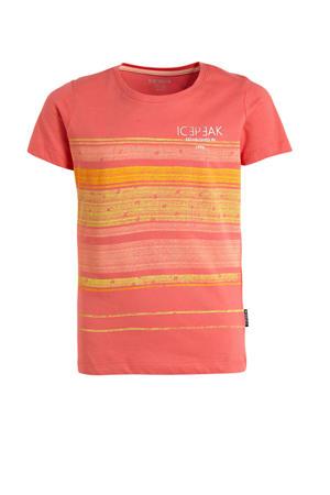 T-shirt Miami roze