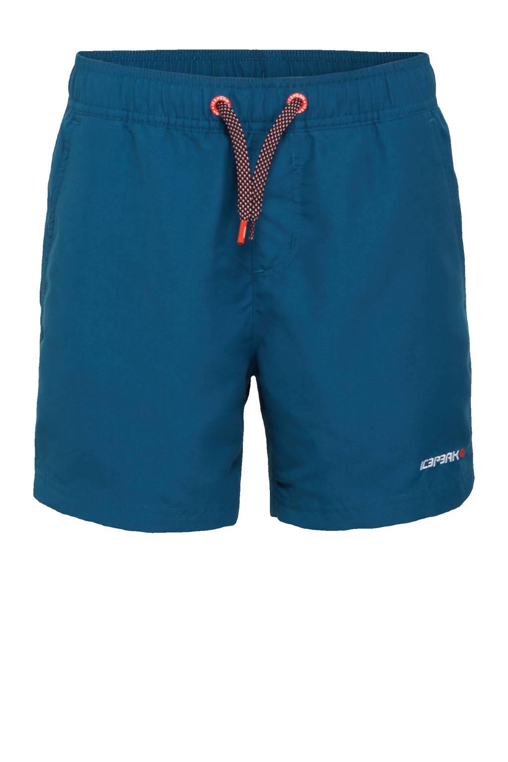 Icepeak  unisex zwemshort Melstone donkerblauw, Donkerblauw
