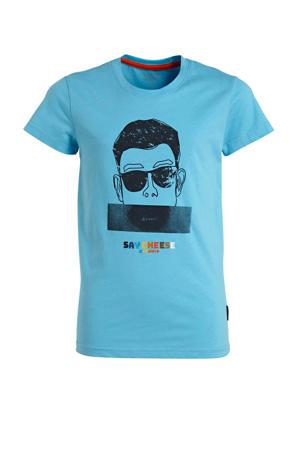 T-shirt Millville turquoise