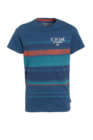 T-shirt Millville donkerblauw