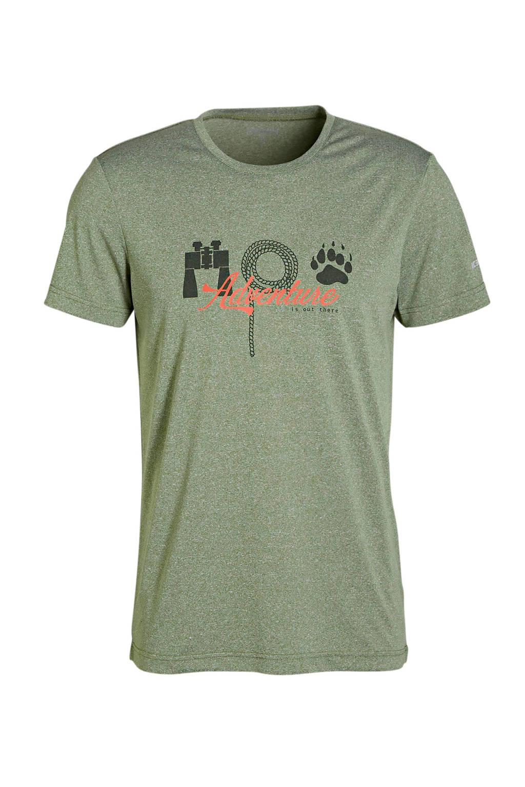 Icepeak T-shirt olijfgroen, Olijfgroen