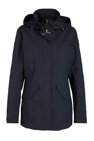 outdoor jas Abbyville donkerblauw